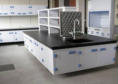 Heavy Duty School Lab Furniture , Grind Resistant Science Lab Tables With Sinks