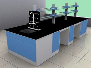 Flexible School Lab Furniture , Modern Laboratory Furniture Workbench