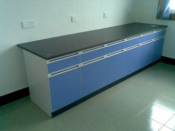 China Wooden MDF Laboratory Workbench Furniture 750 * 850 Mm Easy To Clean supplier