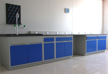 China Economic Laboratory Wall Bench Epoxy Resin Board CE / SGS Approved supplier