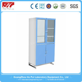 China High End Biology Lab Furniture 1mm Cold Rolled Steel Pharmacy Medicine Cabinet supplier