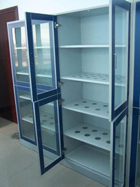 Durable Wall Mounted Storage Cabinets , High Strength Chemistry Lab Furniture