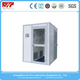 Laboratory Stainless Steel Air Shower With Centrifugal Fan / Automatic Door