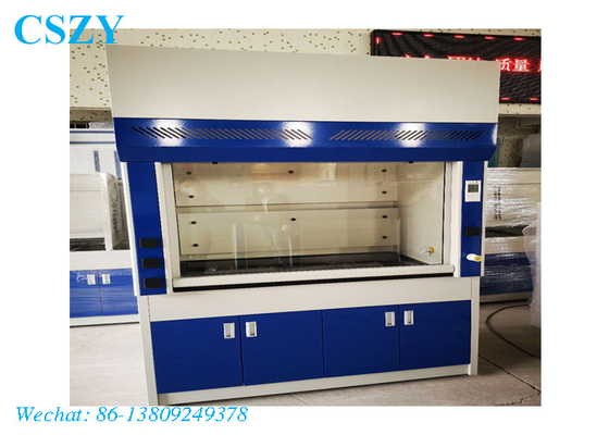Chemical laboratory fume hood lab fumehood exhaust fume cupboard