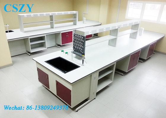 Usable Laboratory Furniture/Lab Chemical/Phenolic Resin Worktop Wood Workbench