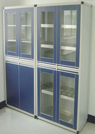Commercial Lab Storage Cabinets Aluminum Alloy Environmentally Friendly