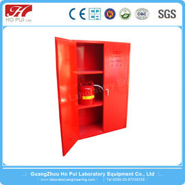 Industrial Explosion Proof Cabinet Red For Combustible Liquid 90G / 340L