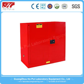 350 LBS Steel Vertical Flammable Safety Cabinet For Harmful Gas Storage