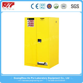 Yellow Flammable Industrial Lab Furniture Stainless Steel Material