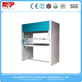 Cold Rolled Steel Laboratory Work Benches Single Face UV Lamp For Two Person