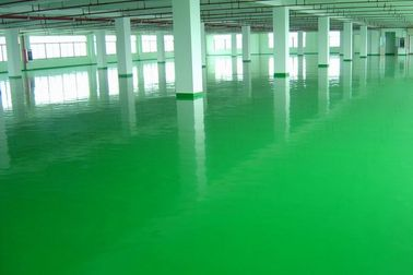 Smooth Wooden Laboratory Furniture Dust Proof Liquid Resin Floor Coating Finishing