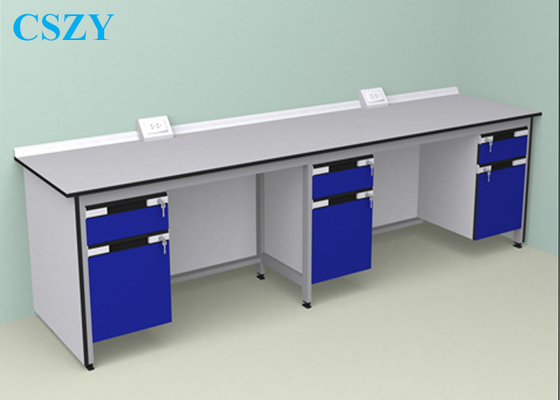 Wood Steel Lab Furniture For School , laboratory Work Bench